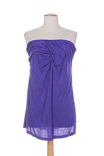 numph chemises femme de couleur violet