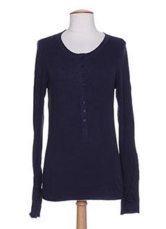 T-shirt manches longues bleu DIABLESS pour femme