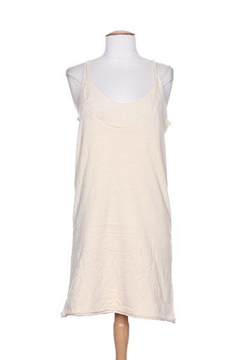 Robe courte beige DIABLESS pour femme