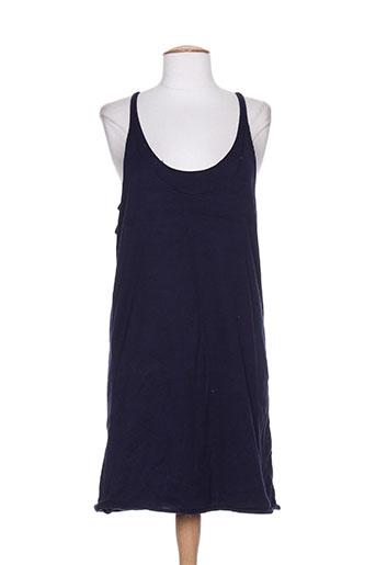 Robe courte bleu DIABLESS pour femme