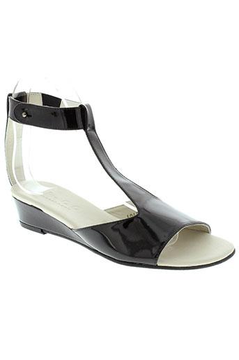 d.co copenhagen chaussures femme de couleur noir