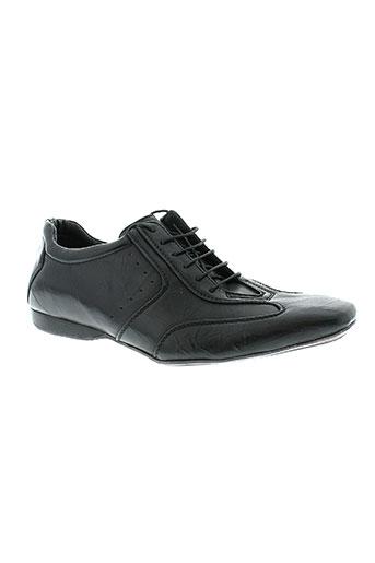 freeside chaussures homme de couleur noir