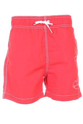 pepe jeans maillots de bain garçon de couleur rouge