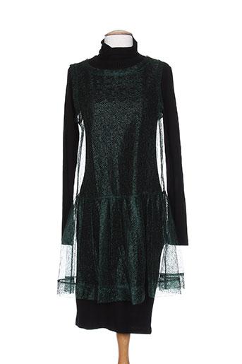 Robe mi-longue vert COP COPINE pour femme