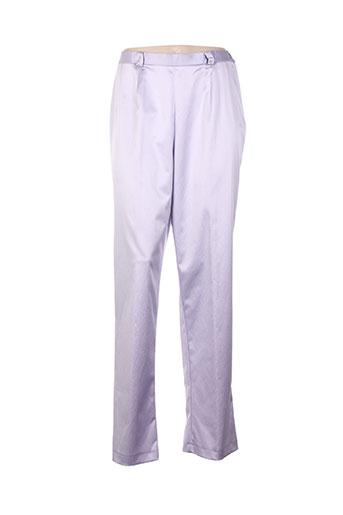 altina pantalons femme de couleur violet