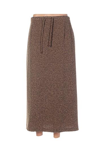 cavita jupes femme de couleur marron