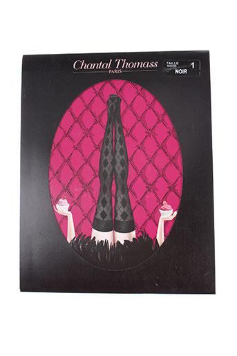 chantal thomass lingerie femme de couleur noir