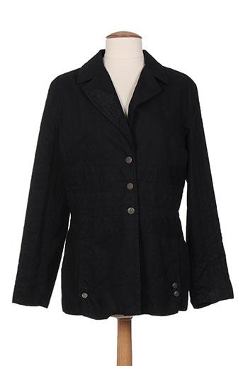 bleu de sym vestes femme de couleur noir