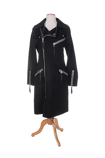 et dieu crea la femme manteaux femme de couleur noir