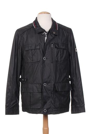 gate one manteaux homme de couleur noir
