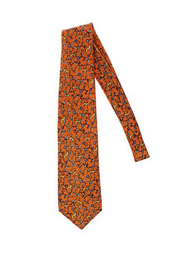john hotland accessoires homme de couleur orange