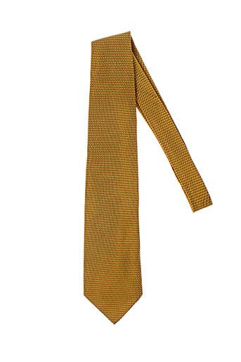 john hotland accessoires homme de couleur jaune
