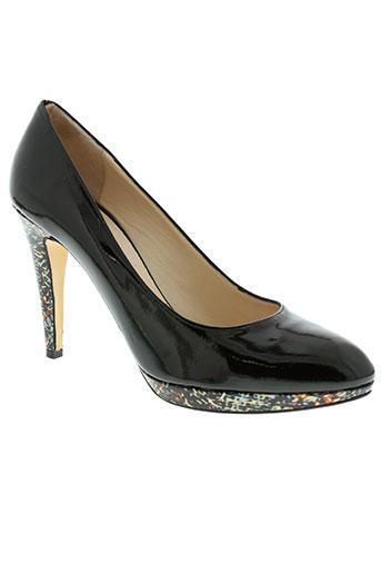 frenesia chaussures femme de couleur vert