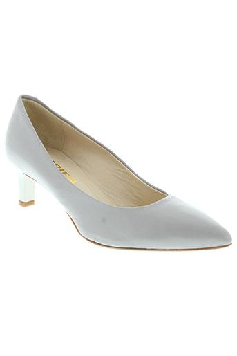 adrien chaussures femme de couleur gris