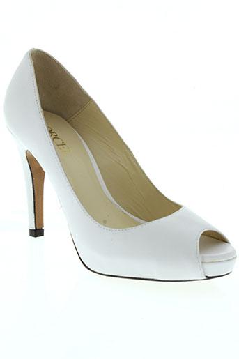 orcel chaussures femme de couleur blanc