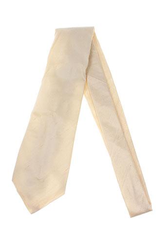 Cravate beige SMART pour homme