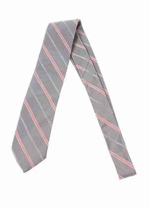 Cravate gris BREUER pour homme
