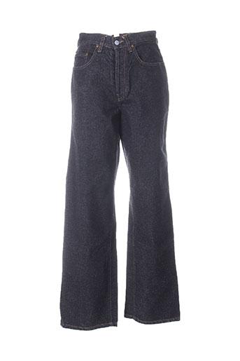 blue spencer jeans homme de couleur noir