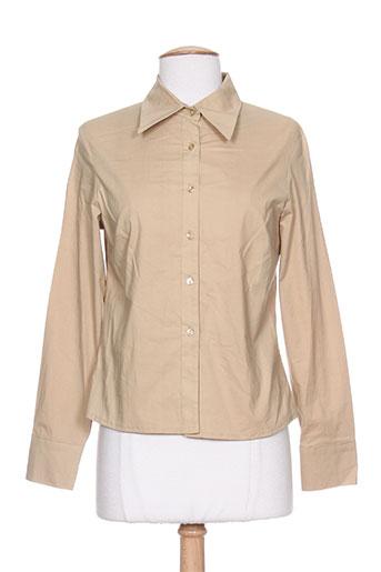 chiquita chemises femme de couleur beige