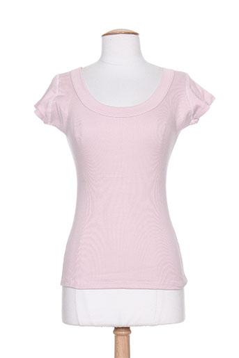 chandail express t-shirts femme de couleur violet