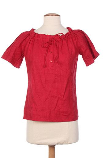 chiquita t-shirts femme de couleur rouge