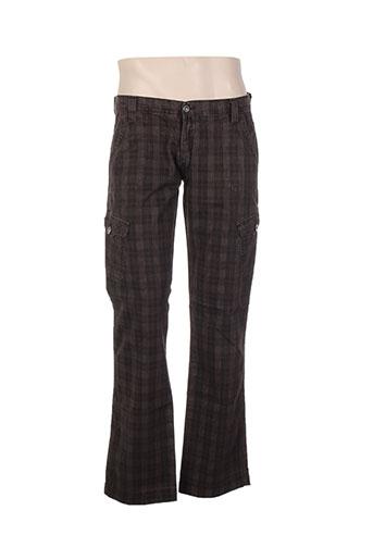 mac laury pantalons homme de couleur marron