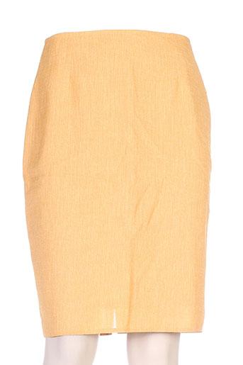 mitsouki jupes femme de couleur jaune