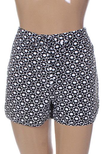rosa faia shorts / bermudas femme de couleur noir