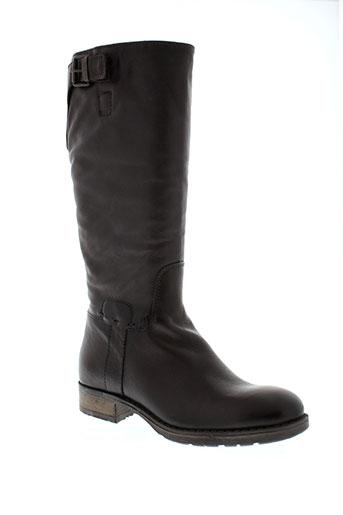 firenze bottes femme de couleur marron