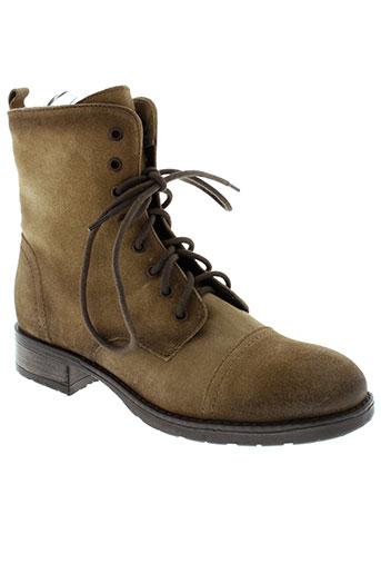 dei colli chaussures homme de couleur marron