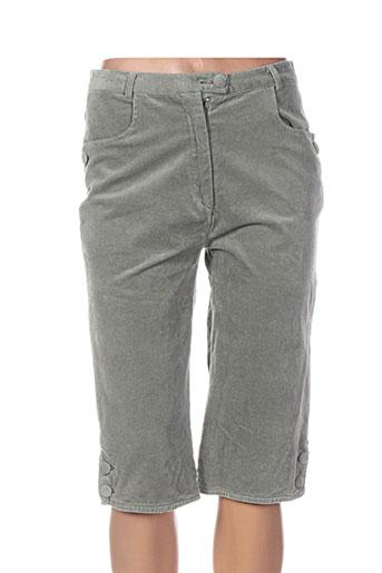 daniel amaury shorts / bermudas femme de couleur vert