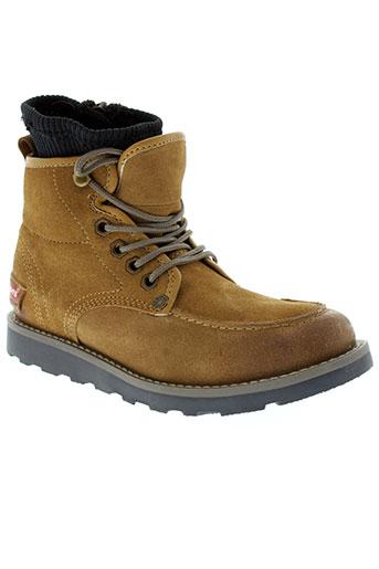 levis chaussures garçon de couleur jaune