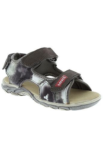 levis chaussures garçon de couleur gris