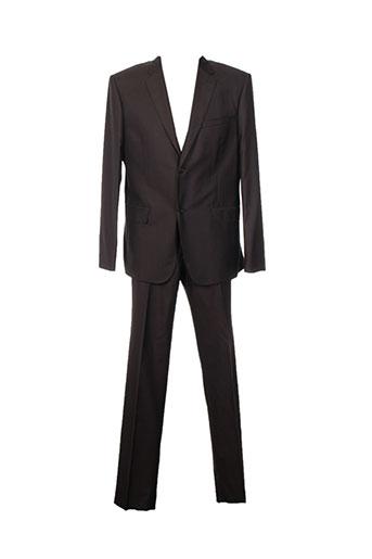 kenzo costumes homme de couleur marron