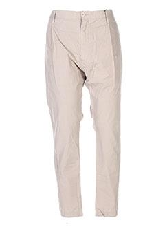Pantalon chic beige DOLCE & GABBANA pour homme