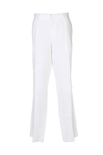kenzo pantalons homme de couleur blanc