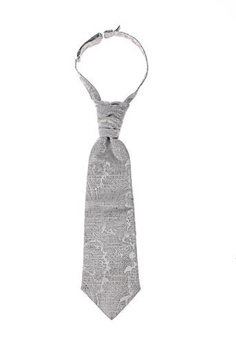 Cravate gris CATOGAN pour homme
