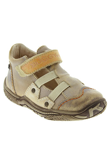 buggy chaussures garçon de couleur beige