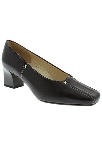 anne flavie chaussures femme de couleur noir