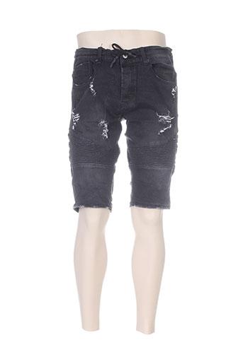 project x shorts / bermudas homme de couleur noir