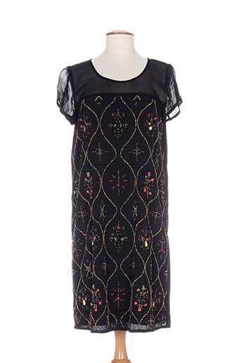 niza robes femme de couleur noir