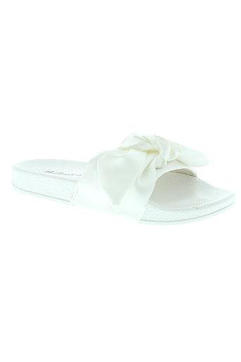 bellamica chaussures femme de couleur blanc