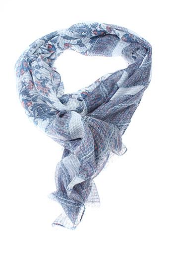 Foulard bleu INEL pour femme