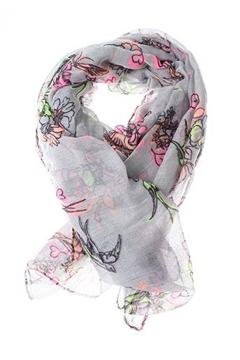 Foulard gris INEL pour femme