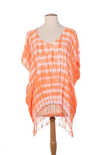 seafolly tuniques femme de couleur orange