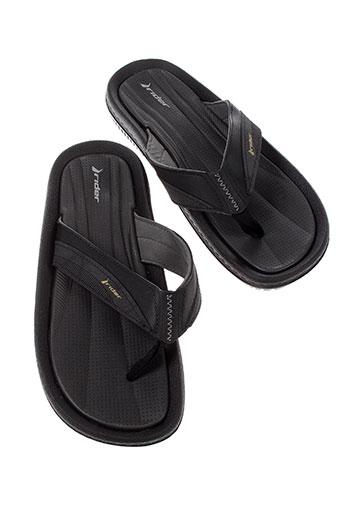 rider sandals chaussures homme de couleur noir