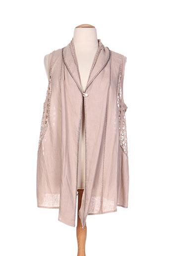fuegolita vestes femme de couleur beige