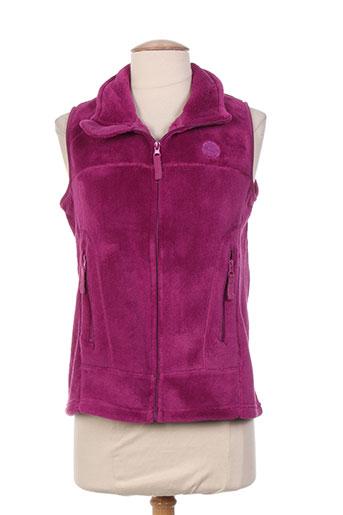 thalassa vestes femme de couleur violet