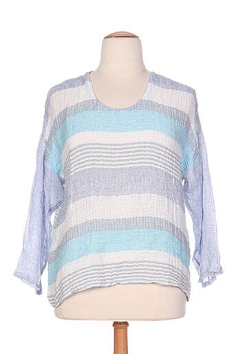 marilu chemises femme de couleur bleu