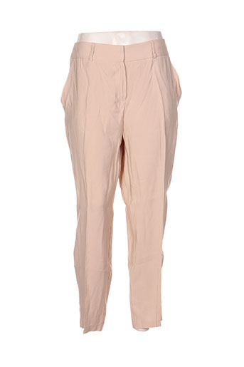 kokomarina pantalons femme de couleur beige